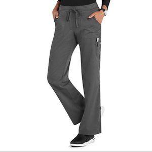 5XL Grey's Anatomy Scrub Pants 4245X GRANITE